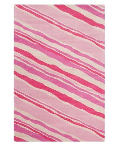 Filament Christina Hand-Tufted Wool Rug, Pink, 5' x 7' 6