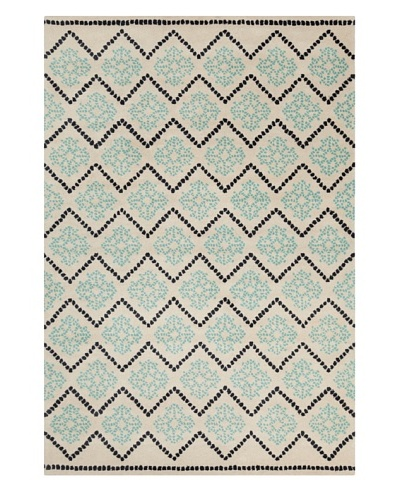 Filament Floyd Hand-Tufted Wool Rug, Blue, 5' x 7' 6
