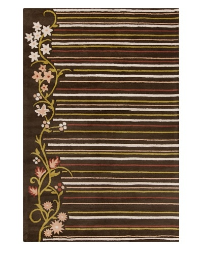 Filament Luetta Hand-Tufted Wool Rug, Multi, 5' x 7' 6