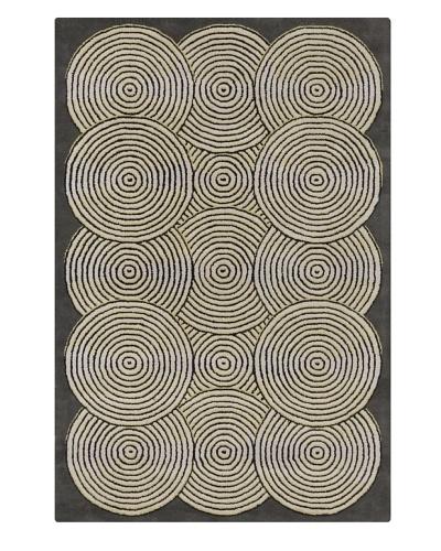 Filament Kellie Rug, Grey/White, 5' x 7' 6'