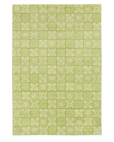 Filament Karima Hand-Tufted Wool Rug, Green, 5' x 7' 6