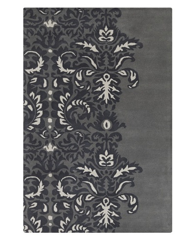 Filament Tracy Hand-Tufted Rug, Charcoal, 5' x 7' 6""