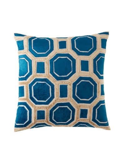 Filling Spaces Iris Pillow, Multi, 20x20