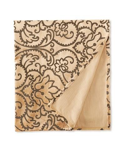 Filling Spaces Jayne Throw, Brown/Chocolate, 50 x 64