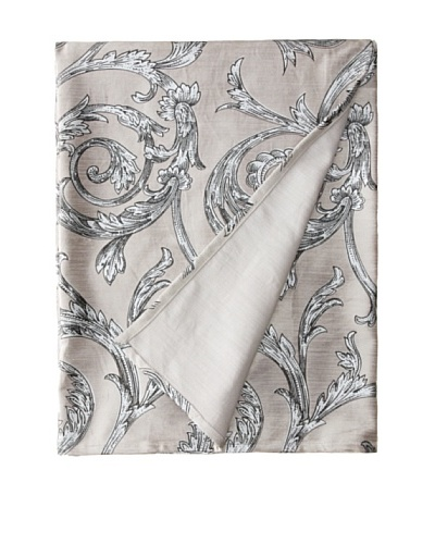 Filling Spaces Jayne Throw, Gray/Silver, 50 x 64