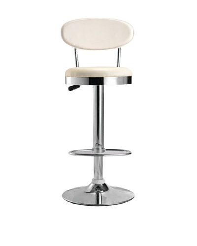 Fine Mod Beer Bar Chair [White]