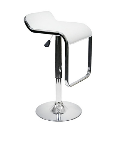 Fine Mod Flat Bar Stool [White]