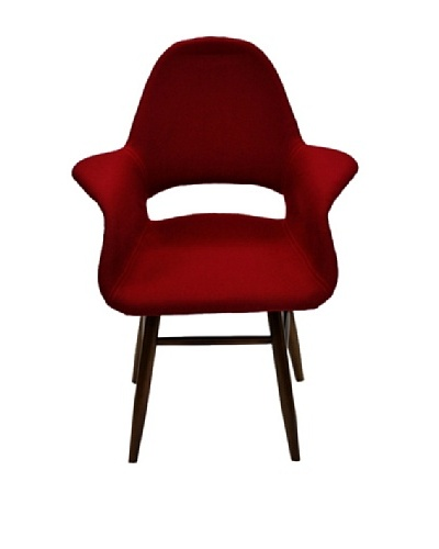 Fine Mod Eero Dining Chair [Red]