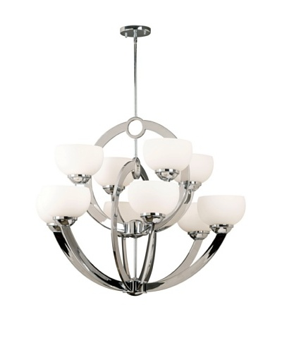 Design Craft Vera 10-Light Chandelier
