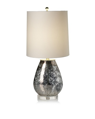 Lighting Accents Oval Mercury Glass Table Lamp