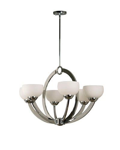 Design Craft Vera 6-Light Chandelier