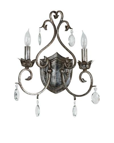 Design Craft Elizabeth 2-Light Sconce
