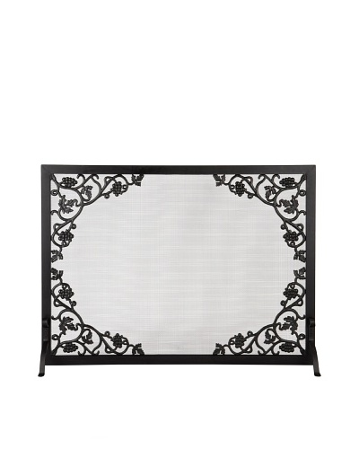 Pilgrim Home and Hearth Pilgrim Cast Grapevine and Leaf Flat Panel Screen