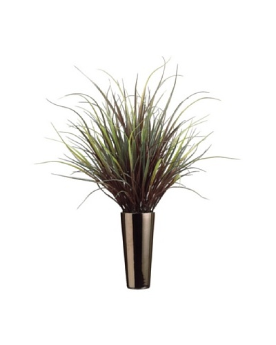 Yucca Grass Plant, Green/Red