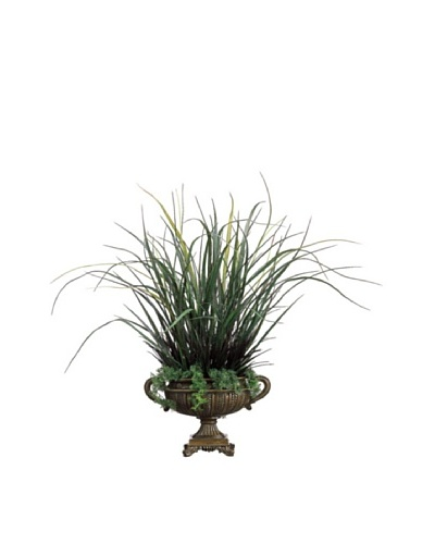 Mixed Grass In Urn