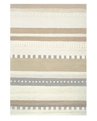 Foreign Accents Chelsea Rug, Cream/Oatmeal/Grey/Camel, 7' 5 x 9' 6