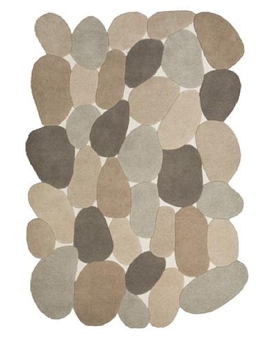Chelsea Rug, Ivory/Stone/Tan/Grey, 5' x 7' 3
