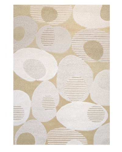 Chelsea Rug, Tan/Off-White/Grey, 5' x 7' 3