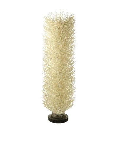Foreign Affairs Floor Standing Lamp Urchin, Large, White