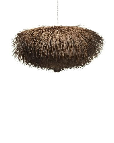 Foreign Affairs Urchin Hanging Lamp [Dark Brown]
