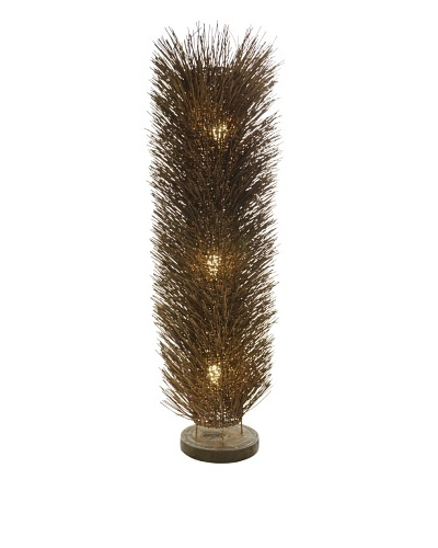 Foreign Affairs Floor Standing Lamp Urchin, Large, Dark Brown