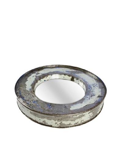 Foreign Affairs Kacat Mirror, Silver/White