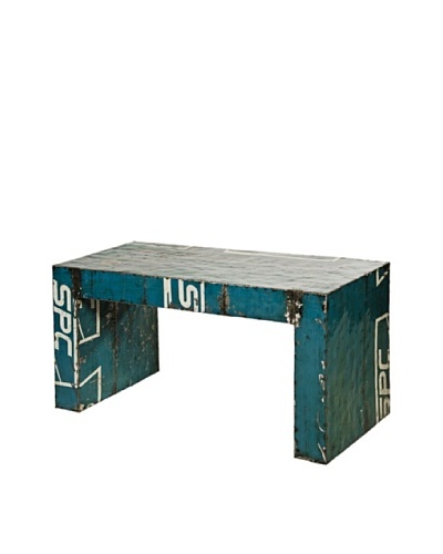 Foreign Affairs Coffeetable Eclectic Made From Recycled Oil Drums, Various
