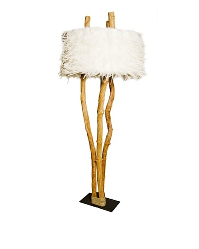 Foreign Affairs Liana Standing Lamp, White