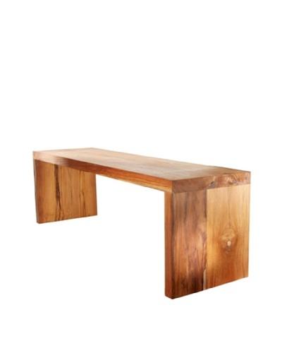 Foreign Affairs Bangku Solid Teak Wood Bench