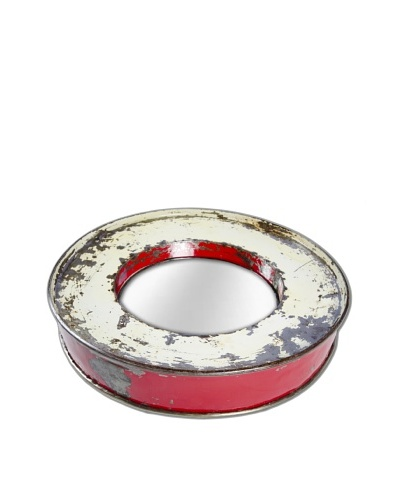 Foreign Affairs Kacat Mirror, Cream/Red