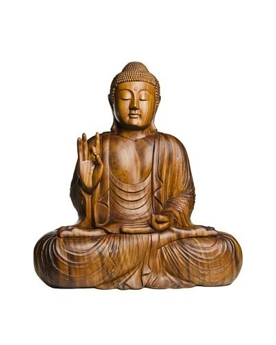 Foreign Affairs Large Meditating Buddha Statue