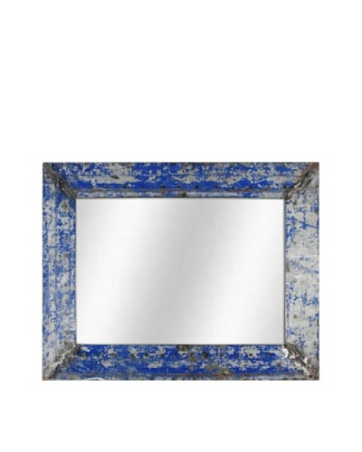Foreign Affairs Kante Mirror, Blue