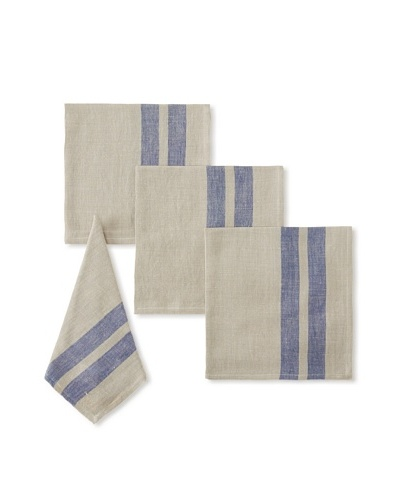 Found Object Lille Set of 4 Linen/Cotton Napkins