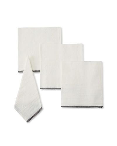 Found Object Toulon Set of 4 Linen/Cotton Napkins