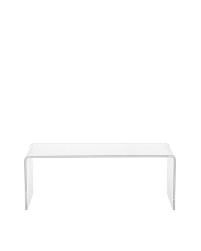 Foxhill Trading Pure Décor Acrylic Coffee Table, Clear