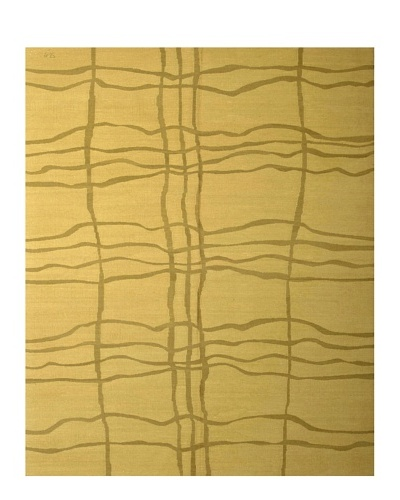 French Accents Modern Flatweave Killim Rug [Grass]
