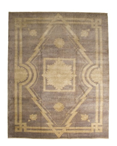 French Accents Art Deco Carpet [Blue/White]