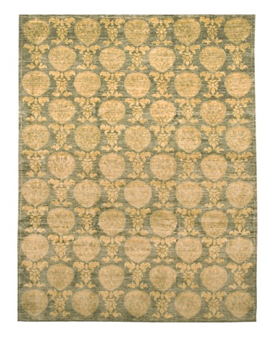 French Accents Colline Carpet [Green/Ivory]