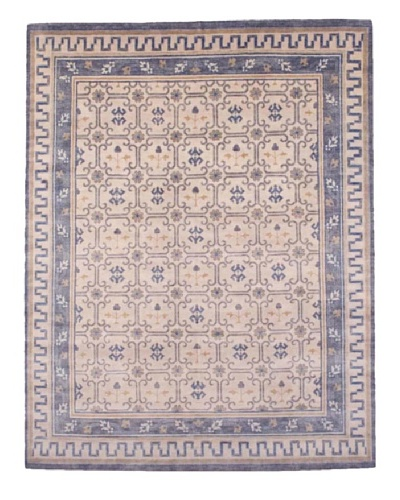 French Accents Ninghsia Carpet [Navy/Cream Multi]