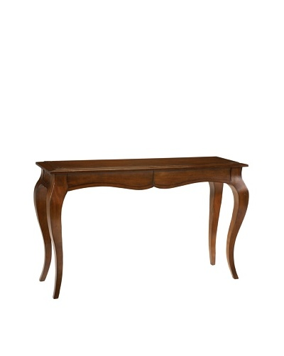French Heritage Beaulieu Console Table, Antique Cherry