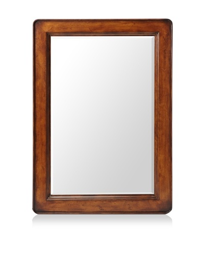 French Heritage D'Orsay Mirror, Antique Cherry