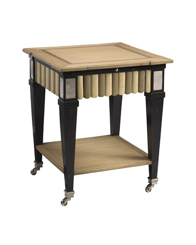 French Heritage Le Mont End Table, Oakland Charcoal