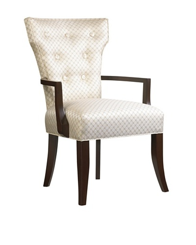 French Heritage Alma Dining Arm Chair, Antique Cherry