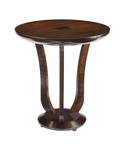French Heritage Trocadero Rosewood Round End Table