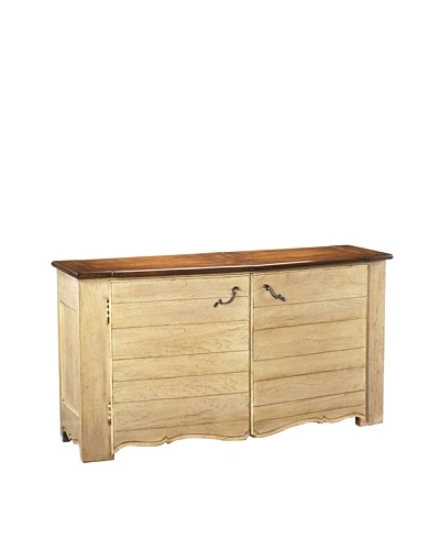 French Heritage Beaulieu Buffet, Paris Teak Light and Dark