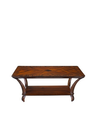 French Heritage Trocadero Rosewood Rectangular Coffee Table