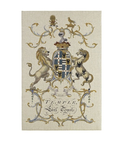 French Linen Collection Crown & Crest Tapestry