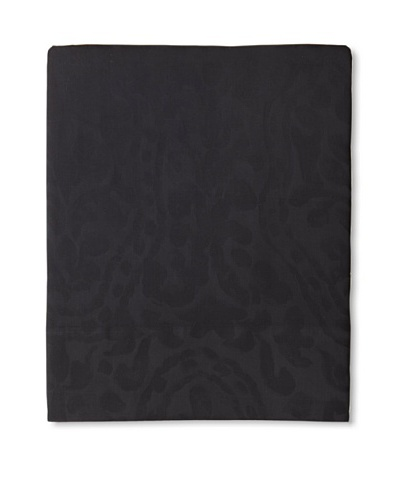 Edmond Frette Procida Jacquard Top Sheet [Black]
