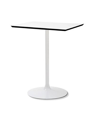 Domitalia Square Crown Table, White