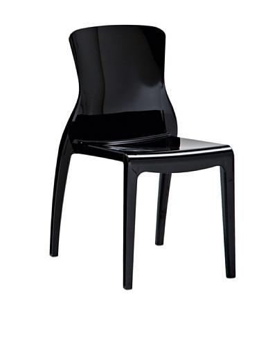 Domitalia Crystal Chair, Black